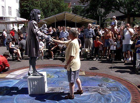 Künstlerische Darbietung, Performer in Koblenz