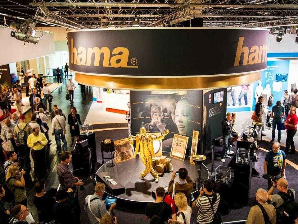 Messeveranstaltung, Fa. Hama, Messe Köln