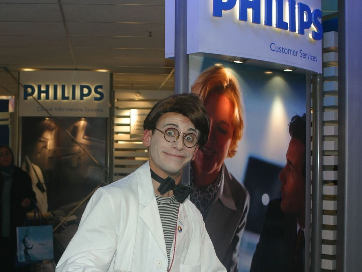 Philips, Messe Düsseldorf