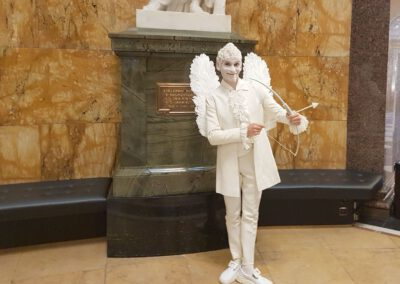 Statue von Amor
