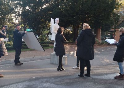 Skulptur Amor Engel