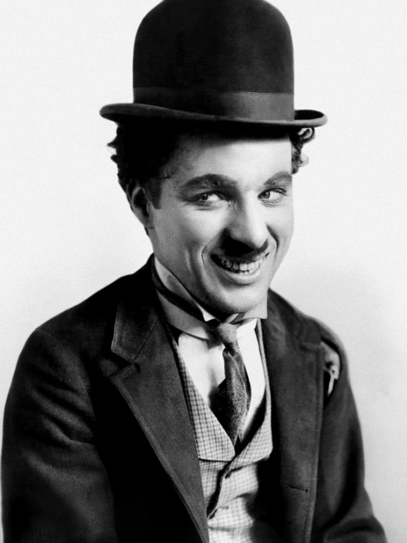 Chaplin in der Rolle des Tramps (1915)